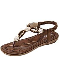 Plastico es Chanclas Sandalias 41 Zapatos Para Y Amazon Mujer 5vqXq
