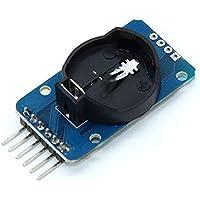Jie Zhuhui - 1 unidad DS3231 AT24C32 IIC de precisión RTC reloj en tiempo real módulo de memoria para Arduino Board