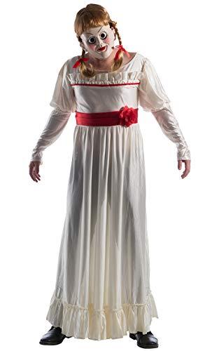 Kostüm Annabelle Kinder - Rubie's Rubie´s Unisex Kostüm, Mehrfarbig, Standard, Chest 42-44-inch, Waist 30-34-inch