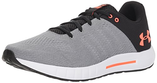 check out e4e1d c2808 Under Armour UA Micro G Pursuit, Scarpe Running Uomo, Grigio (Steel Black
