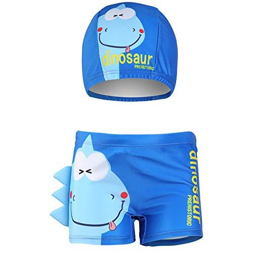 IPBEN Baby Junge Schwimmen Shorts Kleine Jungen Badehose Schwimmen Boxer für Kinder 3D Cartoon Krabben Dinosaurier Gedruckt Kostüm