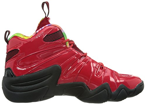 adidas Crazy 8, Chaussures de Basketball Homme red
