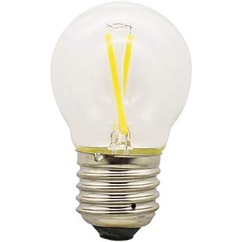 1X Vendimia LED Edison Filamento Pelota de Golf Del Bulbo G45 - Bombilla 2W Luz LED