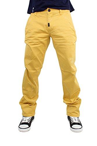 LRG - Vaquero - para Hombre Amarillo Mostaza 32 W/33 L