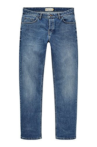 next Homme Straight Fit Jean Stretch Bleu