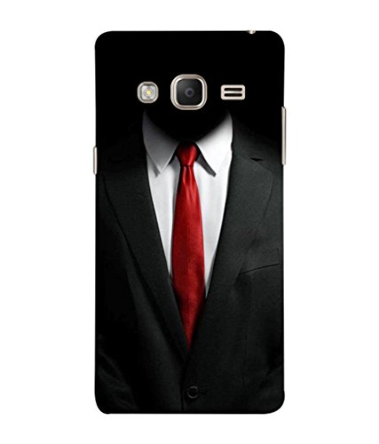 PrintVisa Designer Back Case Cover for Samsung Galaxy Z3 Tizen :: Samsung Z3 Corporate Edition (Suit shirt tie formal decent)  available at amazon for Rs.349