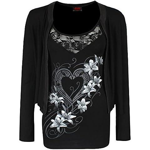 Spiral - Camiseta de manga larga - para mujer