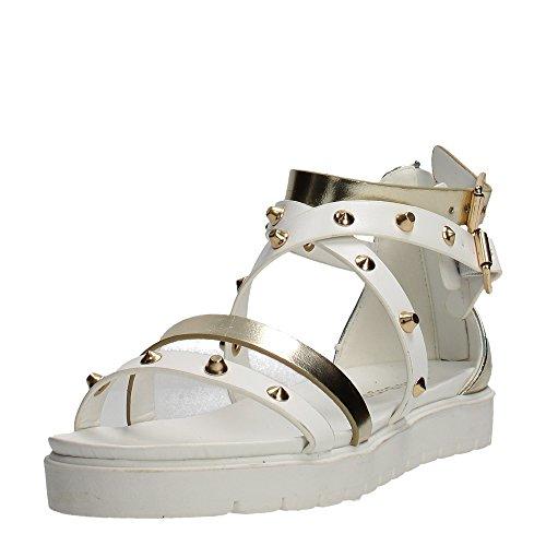 Laura Biagiotti 872 Sandale Femme Blanc