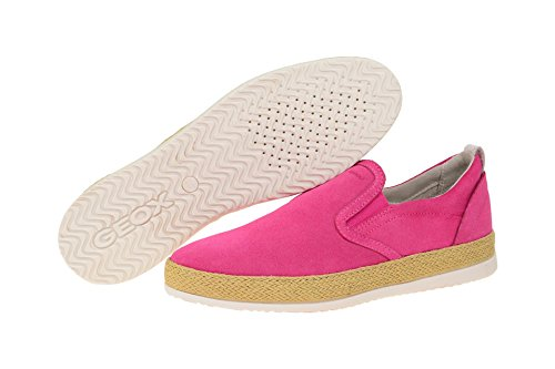Geox D724ea 00022c8004, Mocassini donna Pink