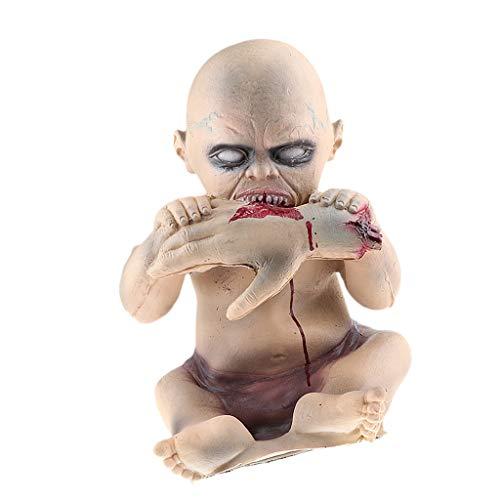 Baoblaze Schreckliche Zombie Pumpe Baby Halloween Deko Figur als Requisiten