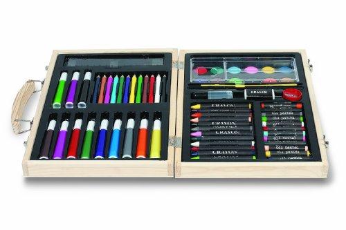 Malkoffer 'PAINT BOX 66' mit 11 Utensilien - 66-teiliges Malset für Schule und Co.: Der kompakte...