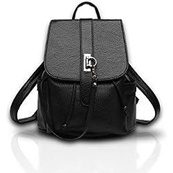Nicole&Doris Las mochilas de escuela de cuero nuevo de las mujeres del paquete del recorrido del bolso de la PU para las niñas adolescentes