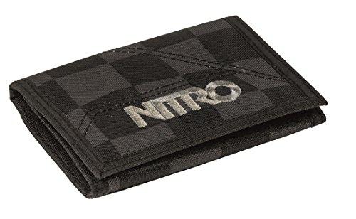 Nitro Wallet, Geldbörse, Geldbeutel, Portemonnaie, Münzbörse,  Checker,  10 x 14 x 1 cm - Basic Wallet
