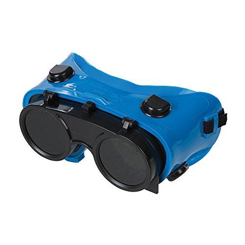 Silverline tools 140810 - occhiali da saldatura, modello 5, colore: trasparente/verde