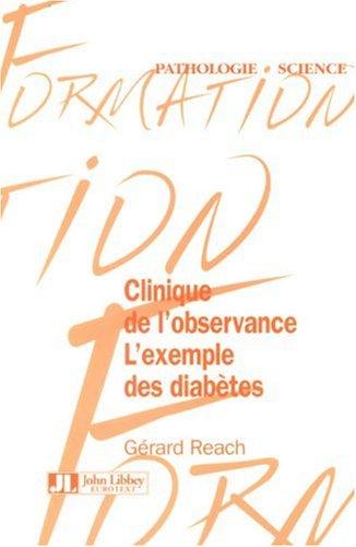 Clinique de l'observance : L'exemple des diabètes