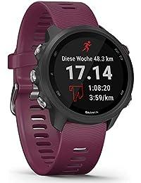 """Garmin Forerunner 245 – GPS-Laufuhr mit individuellen Trainingsplänen, speziellen Lauffunktionen und detaillierter Trainingsanalyse. 1,2"""" (3 cm) Farbdisplay, Akkulaufzeit bis zu 7 Tage, wasserdicht"""