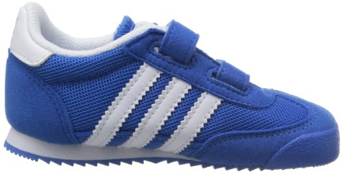 adidas Originals Dragon Cf I, Baskets mode mixte bébé Bleu (Bleazu/Runwht/Runwht)