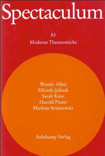 Spectaculum 63: Fünf moderne Theaterstücke