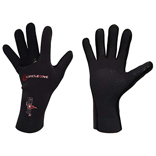 41VFB4aWeML. SS500  - Circle One ICON Supaflex Surf Gloves with 3mm Neoprene