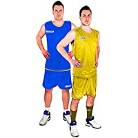 Legea Kit Double Korb Line Basketball Match Sport T-Shirt Jersey Shorts
