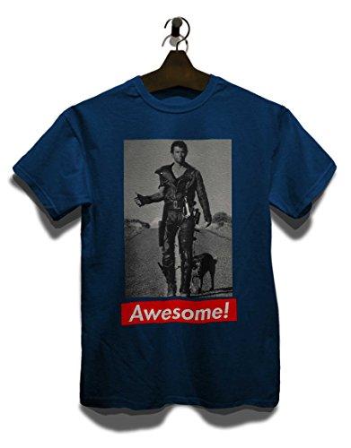 Awesome 48 T-Shirt Navy Blau