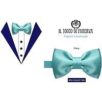 Papillon Farfallino seta Tiffany - Realizzati a Mano - Made in Italy-HandaMade-Regali ragazza-Prodotto Artigianale-idee regali originali-regali di natale-regali per lei-regali di San Valentino