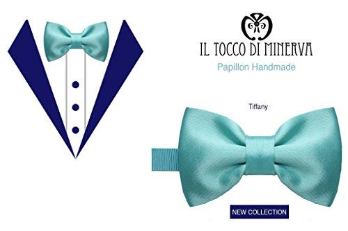 Fliege Tiffany seide Mann Handgefertigt Made in Italy- handgefertigt - handgemacht - Mädchen Geschenk Mädchen - Geschenke für sie - Weihnachten