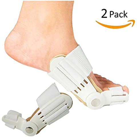 winlink flexible Footful Hallux Valgus corrector actualizado Big Toe Bunion Día y Noche férula Cabello Ayuda pantalla podólogo Tratamiento
