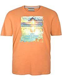Camiseta Redfield naranja en tallas XXL