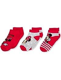 Disney Girl's Lovely Minnie Ankle Socks