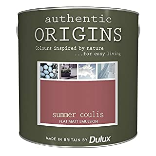 Dulux Authentic Origins Paint - Summer Coulis - 2.5L