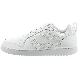 Nike Court Borough Low, Zapatillas de Baloncesto para Hombre, Blanco (Blanco), 44 1/2