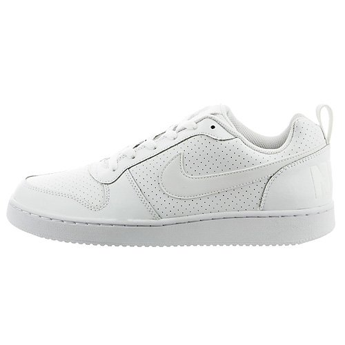 Nike Herren Court Borough Low Basketballschuhe, Weiß (Bianco), 45 EU