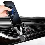 Pyrus Kfz-Halterung für Mobiltelefone, für iPhone, Samsung und andere Smartphones, Schwarz