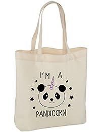 I´M A PANDICORN BOLSO ASA LARGA - Gracioso Unicornio Mágico Criatura Oso Panda