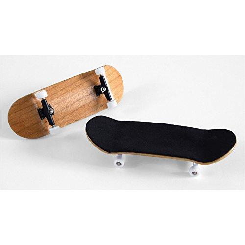 Finger-Skateboard Bauset in rotbraun (Design 1)