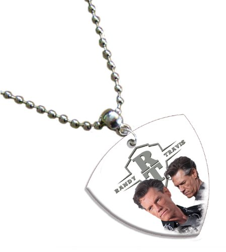Randy Travis Bass Pick Kette Band Plektron