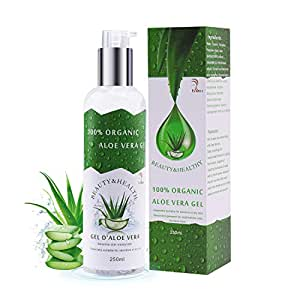 vsadey aloe vera aloe vera gel 100 naturel organique hydratant peau visage corps cheveux en. Black Bedroom Furniture Sets. Home Design Ideas
