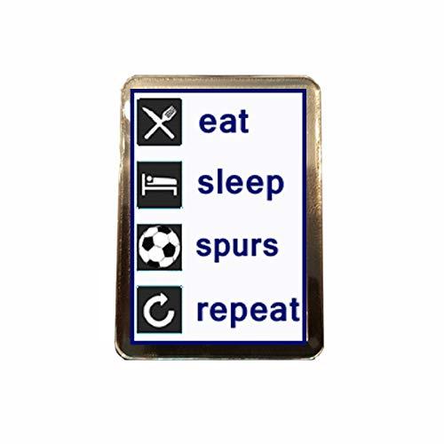 B Gifts Tottenham Hotspur F.C - Eat, Sleep, Repeat Fridge Magnet