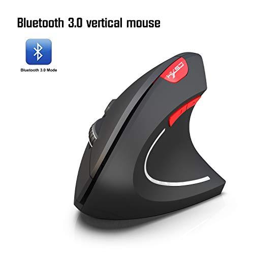 ZUZEN Neue Wireless Mouse 2.4G vertikale Health Mouse Externe Batterie 6D Design Computer Office,D - Externe Computer-batterie
