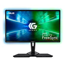 """ASUS CG32UQ, 32"""" 4k(3840x2160), Console Gaming Monitor, Freesync for Xbox, PlaySyatin and Nintendo Switch, DP, HDMI, UB3.0, DCI-P3 95%, DisplayHDR 600, Halo Sync, GameFast, Remote Control"""