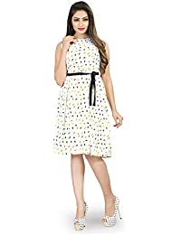 New Ethnic 4 You Western Dresses for Womens and Girls Party Wear one Pieces Dress_frk006