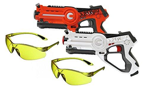 Set de batalla láser Impulse Laser Battle edición especial con 2 gafas...