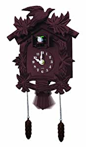 Newhall Old World Cuckoo Clock, Brown