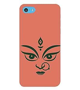 HiFi Designer Phone Back Case Cover Apple iPhone 6 Plus :: Apple iPhone 6+ ( Hindu God Durga maa Bengal )