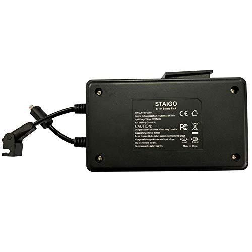 STAIGO Batterie für Power Recliner-Liegesofa mit Netzteil-Stuhl anheben-Lazy Boy Recliners-Drahtloser Akku für Elektrische Bewegungsmöbel für Okin-Limoss-Lazboy-Berkline-Med[25.9V 2500mAh]
