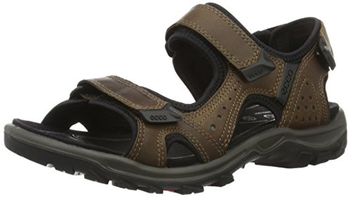Ecco Herren Offroad Lite Sandal, Braun (50337cocoa Brown/Biscaya), 42 EU