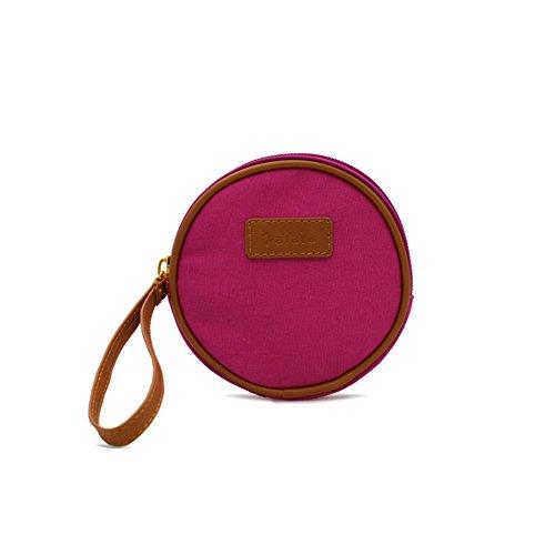 Zaini donna/Piccolo pacchetto rotondo/Carina portamonete/Key/Mini portamonete-D