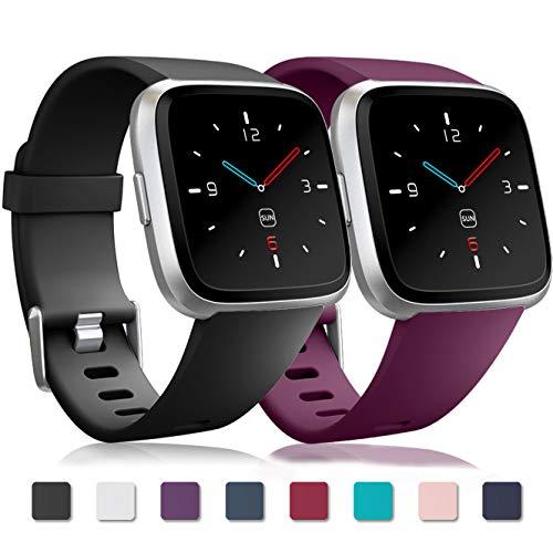 Zekapu Cinturino per Fitbit Versa/Fitbit Versa 2/Versa Lite, Fitbit Versa Bracciale Cinturino...