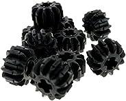 10 x schwarze Zahnräder Zahnrad 12 Zähne schwarz Rad Technik Technic Lego z12 F24